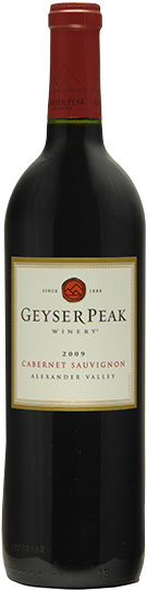 Image of Bottle of 2009, Geyser Peak Winery, Alexander Valley